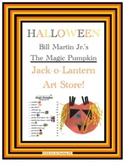 Halloween Money Activity:  Magic Pumpkin Art Store