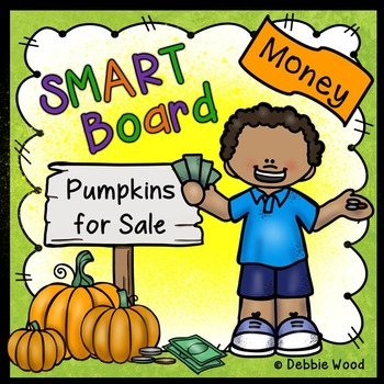 Fall Activities for SMARTboard Money