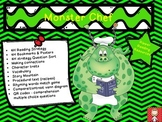 "Halloween: ""Monster Chef"" Reading Comprehension Activities"