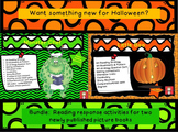 "Halloween: ""Monster Chef"" & ""Little Boo"" Comprehension Bundle"