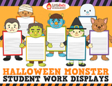 Halloween Activity - Writing Craftivity