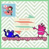 Halloween Monster Cuties Clip Art