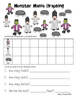 Halloween Graphing Teaching Resources | Teachers Pay Teachers