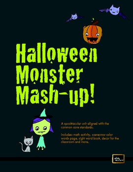 Halloween Monster Mash Unit (Math, Literacy, decor, and more!)