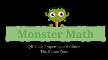 Halloween Monster Math- Addition Properties