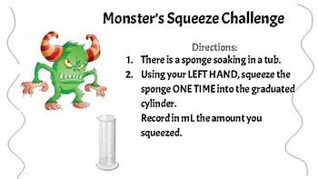 Halloween Monster Metric Math Stations