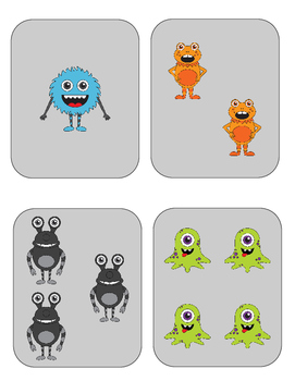 Halloween Monster Number Sense Game!