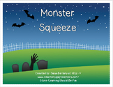 Halloween Monster Squeeze - a comparing numbers game