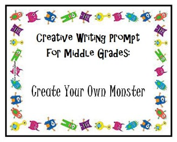 Creative Writing Prompt: Create Your Own Monster