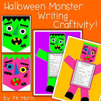 Halloween Monster Writing Craftivity!