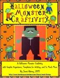 Halloween Monster Writing Craftivity and Literacy Activities