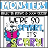 Halloween Monsters Bulletin Board or Door Decoration
