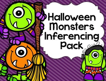 Halloween Monsters Inferencing Pack