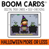 Halloween More or Less BOOM CARDS™