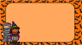 Halloween Morning Message Template Freebie
