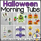 Halloween Morning Tubs