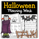 Halloween Morning Work