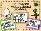 Halloween Motivational Posters (Anchor Charts)