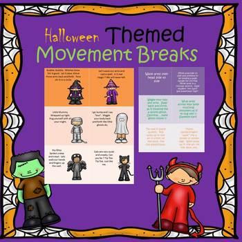 Halloween Movement Breaks