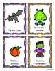 Halloween Movement Cards