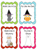 Halloween Movement Transition Cards