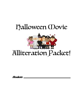 Halloween Movie Alliteration