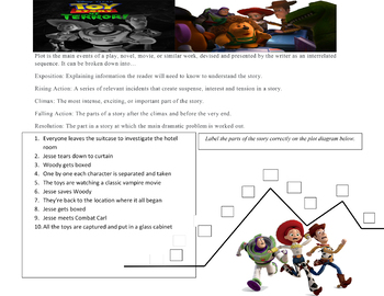 halloween packet toy story of terror questions writing activ and much more
