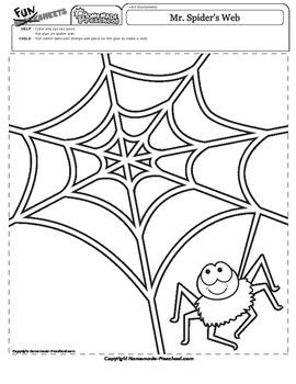 Halloween: Mr. Spider's Web