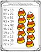 Halloween Multi-Digit 10 Multiplication Printables {Third, Fourth & Fifth}