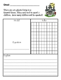 Halloween Multi-Digit Multiplication and Division Word Problems