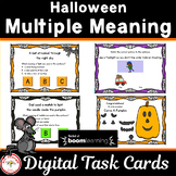 Halloween Multiple Meaning Words  BOOM Cards
