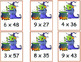 Halloween Multiplication 2-digit by 1-digit and 3-digit by