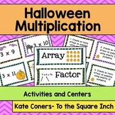 Halloween Multiplication Activities