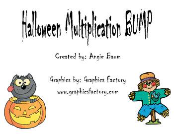 Halloween Multiplication BUMP