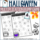 Halloween Multiplication Bump Game