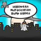 Halloween/October Multiplication Bump Games