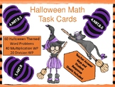 Halloween Multiplication/Division Task Cards