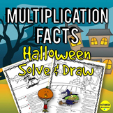Halloween Multiplication Facts
