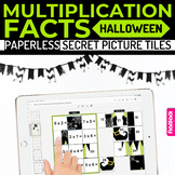 Halloween Multiplication Facts Paperless Google Slides PPT