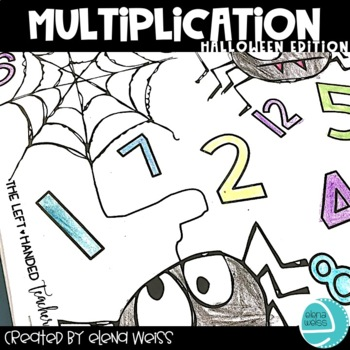 Halloween Multiplication Facts Practice