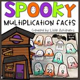 Halloween Multiplication Facts Practice - Halloween Activities Third Grade