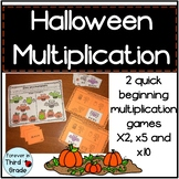 Halloween Multiplication Games