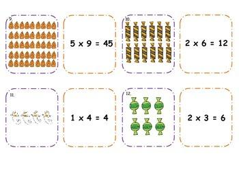 Halloween Multiplication Activities