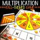 Halloween Multiplication Math Center Game
