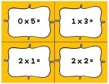 Halloween Multiplication Math Scavenger Hunt