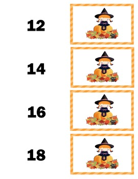 Halloween Multiplication Memory