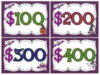 Halloween Multiplication (Multi-Digit Times 1 Digit Numbers) Task Cards