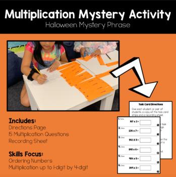 Halloween Multiplication Mystery