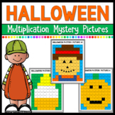 Halloween Math Multiplication Mystery Pictures