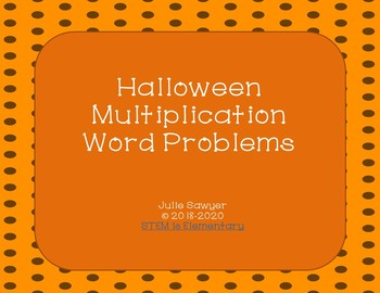 Halloween Multiplication Problems